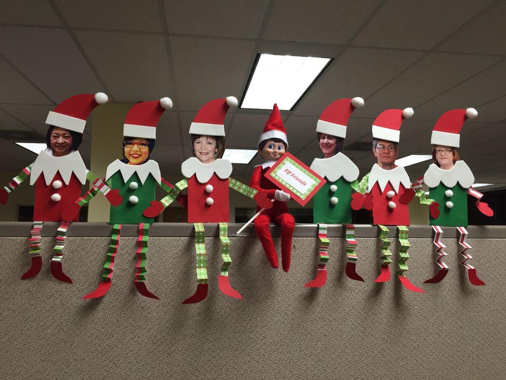 Easy DIY Office Christmas Decoration Ideas 03