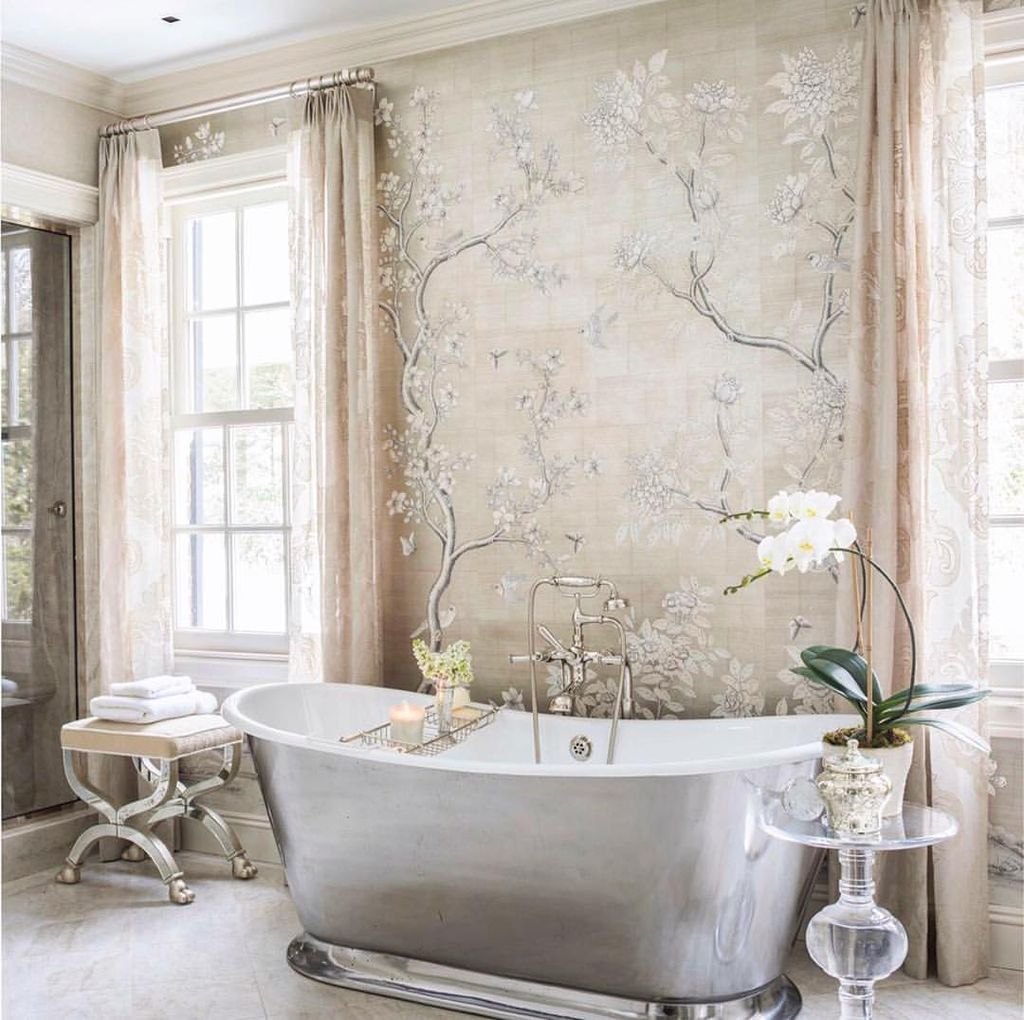46 Best Farmhouse Home Decor Ideas You Will Totally Love: Inspiring Winter Bathroom Decor Ideas You Will Totally