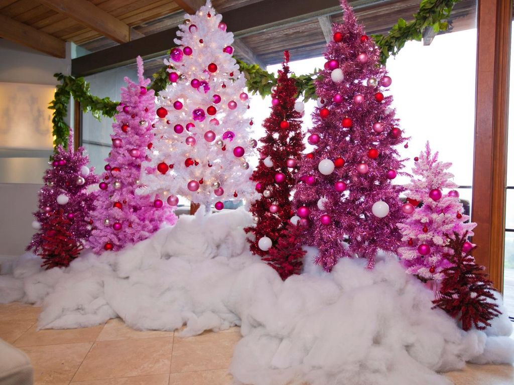 50 Adorable Pink And Purple Christmas Decoration Ideas