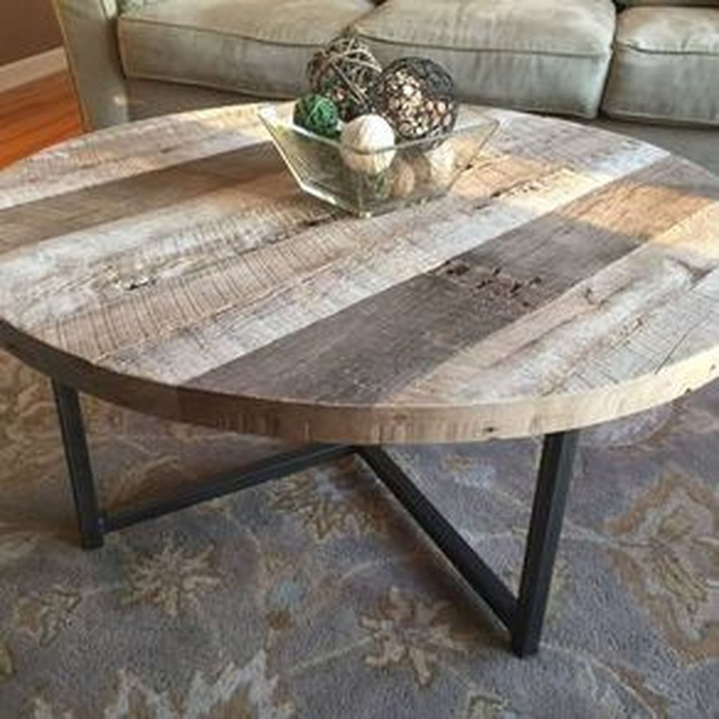 40 Ideas Of Round Adjustable Height Coffee Table Target: 40 Incredible Industrial Farmhouse Coffee Table Ideas