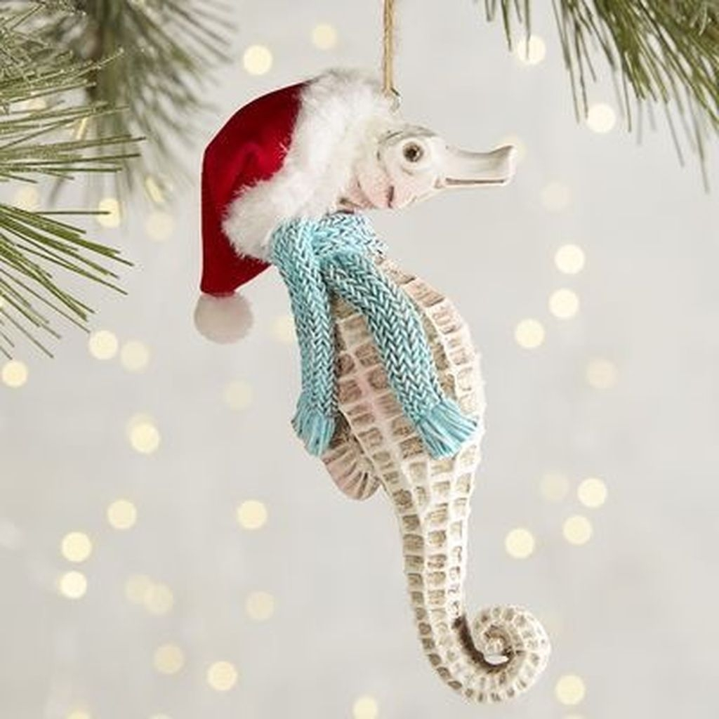 Starfish Christmas Ornaments