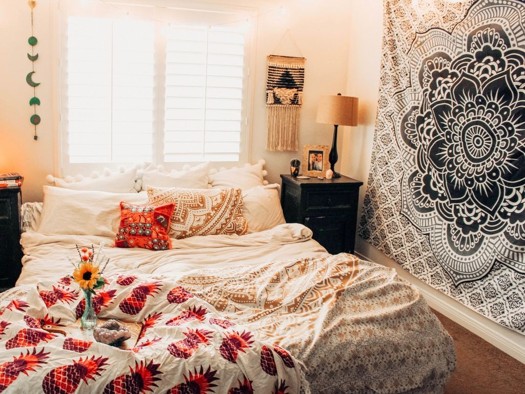 40 Bohemian Bedroom Decoration Ideas Homedecorish
