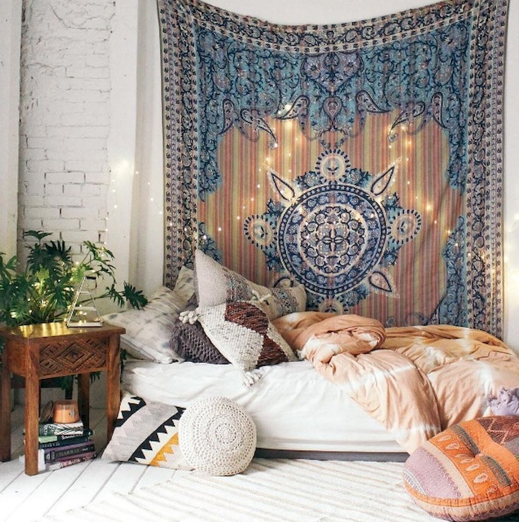 Boho Eclectic Wallpaper