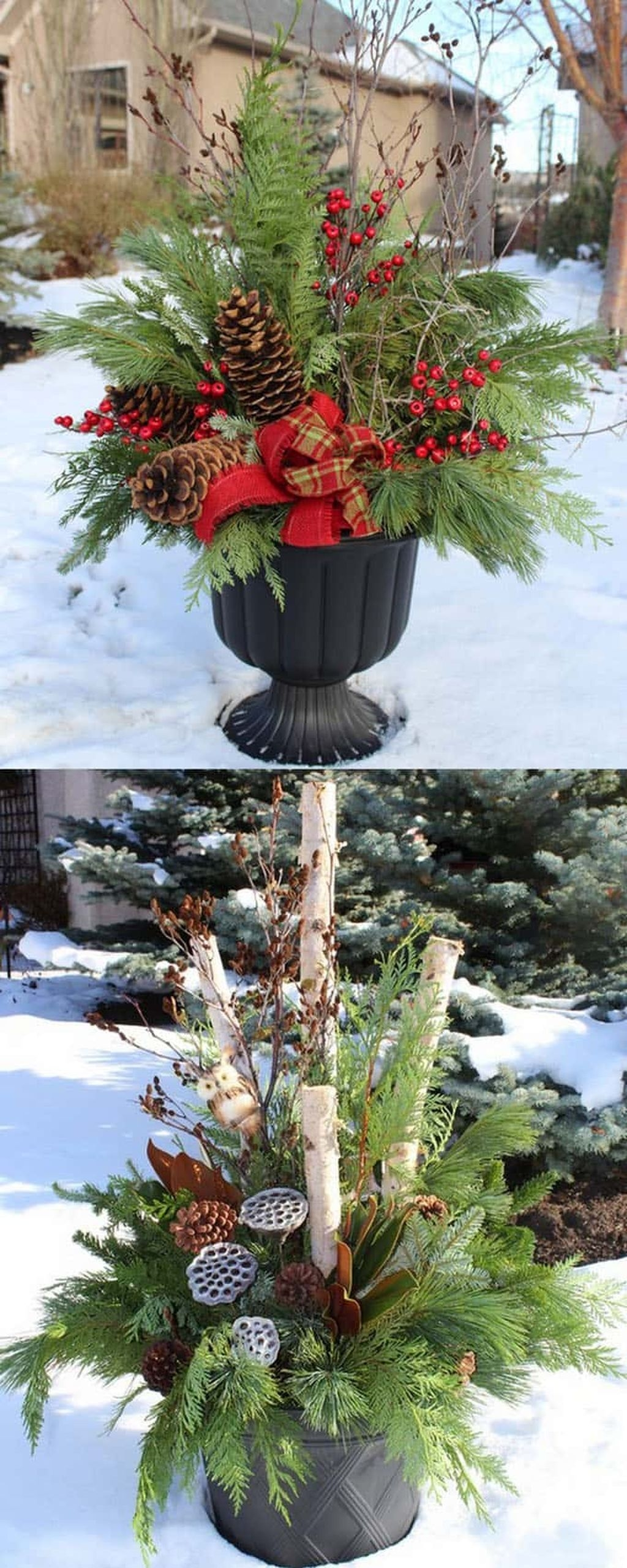 Cheap and affordable christmas decoration ideas 38 for Cheap christmas decoration ideas