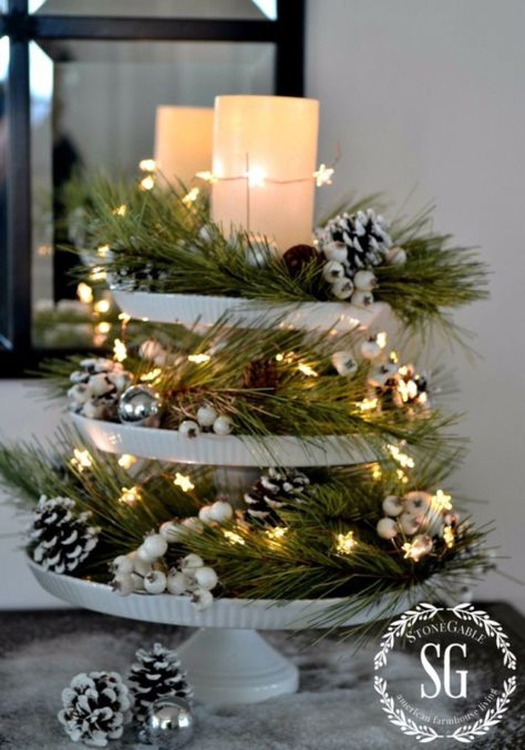 cheap and easy christmas centerpieces ideas 04