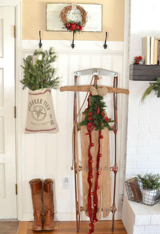 Totally Inspiring Farmhouse Christmas Decoration Ideas To