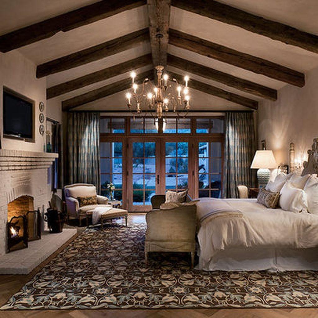 65 Cozy Rustic Bedroom Design Ideas: 37 Cozy Rustic Bedroom Design Ideas 36