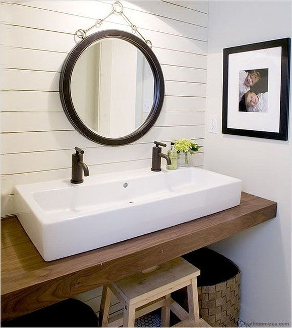 35 Awesome Small Bathroom Ideas For Apartment: 48 Cool Small Master Bathroom Remodel Ideas