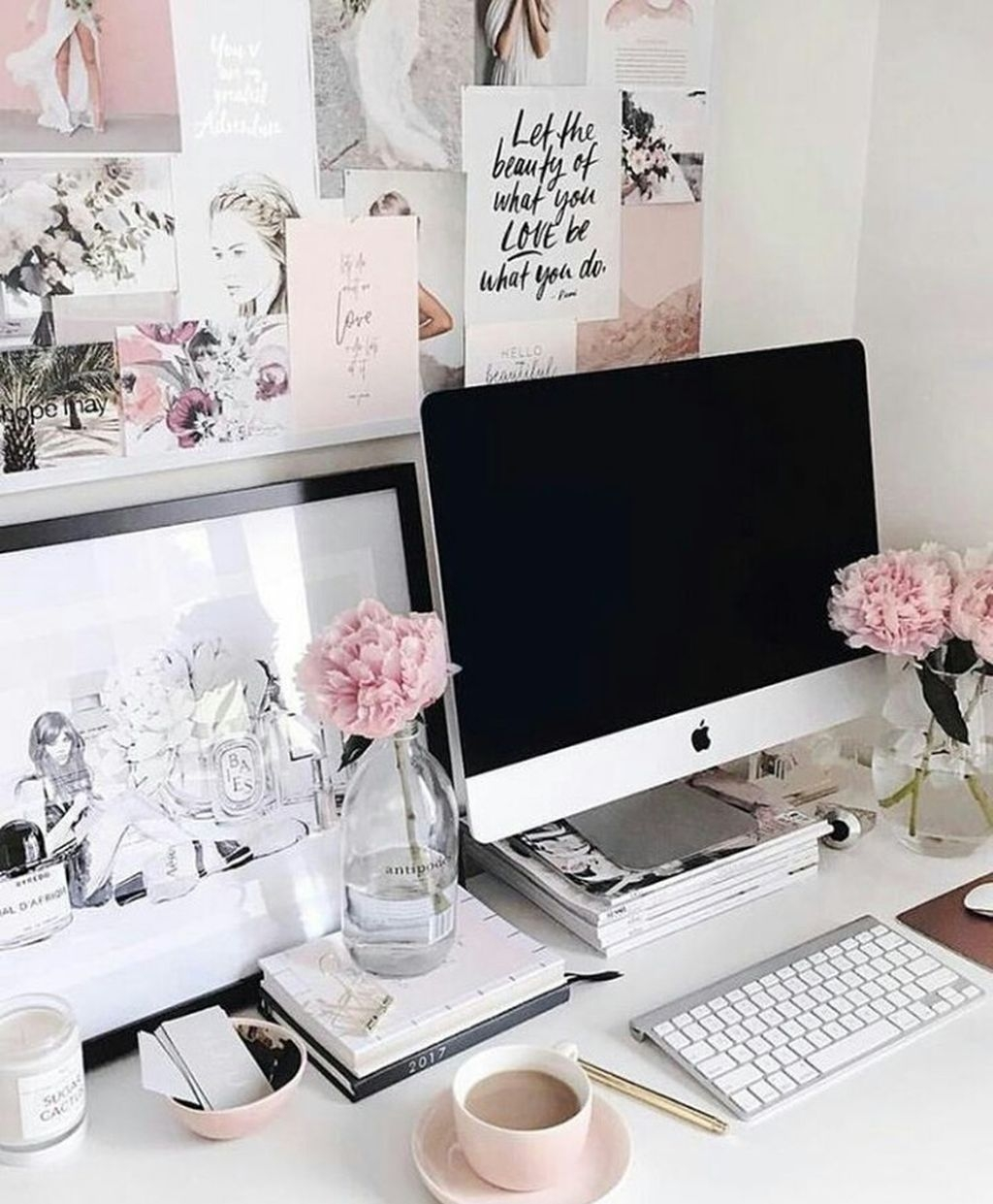 21 Feminine Home Office Designs Decorating Ideas: 37 Elegant And Exquisite Feminine Home Office Design Ideas