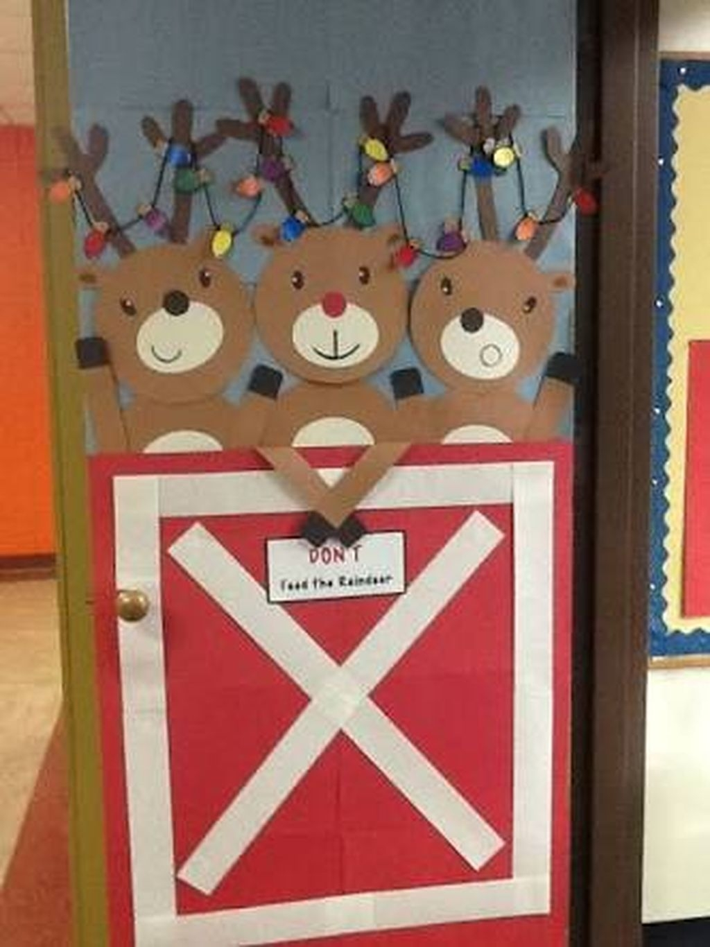 Classroom Door Decoration Ideas For January : Adorable winter classroom door decoration ideas