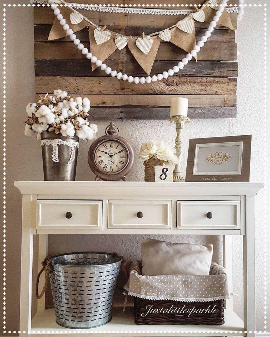 43 Beautiful Rustic Entryway Decoration Ideas