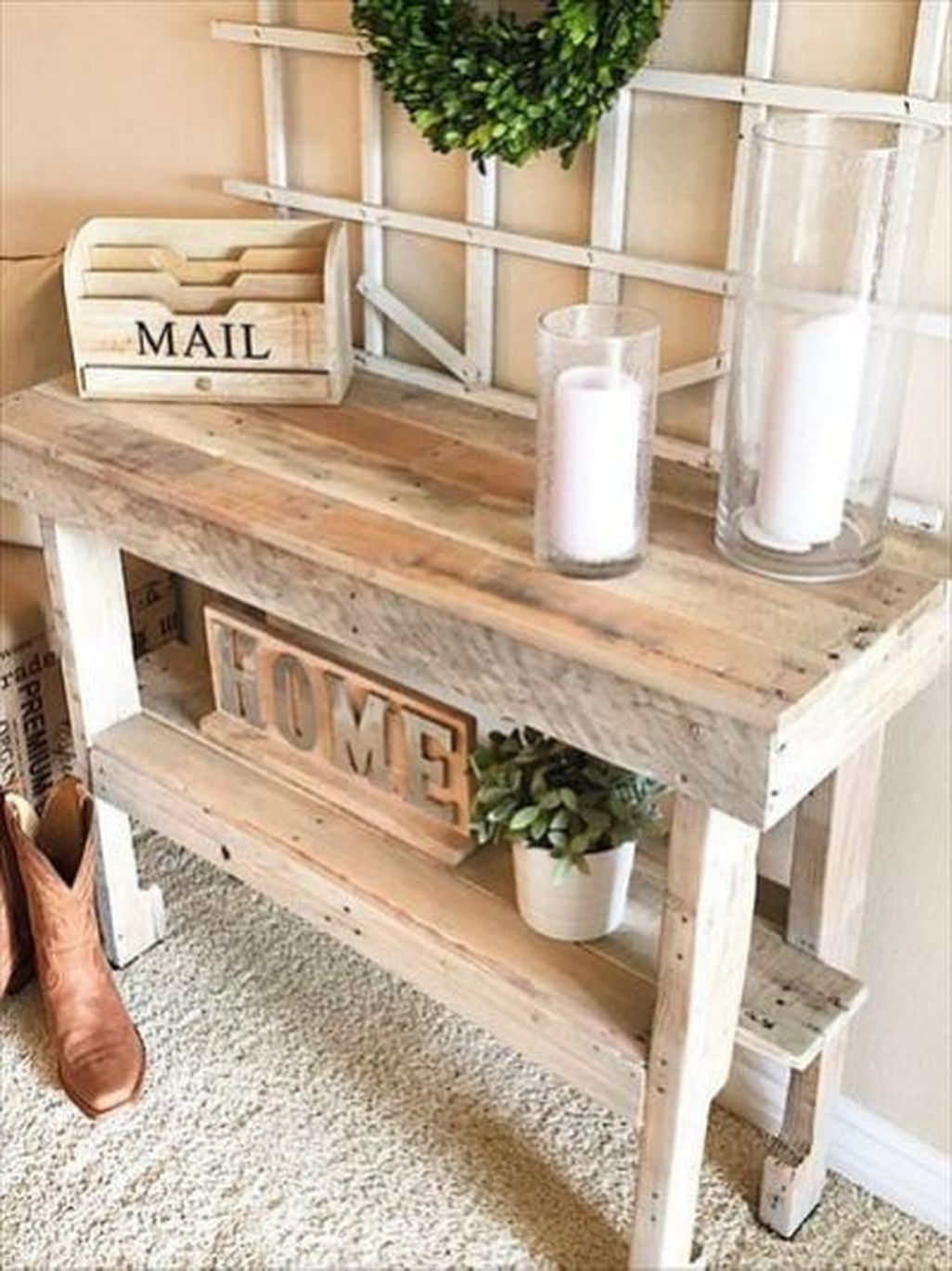 Pallet Dining Table Diy Easy
