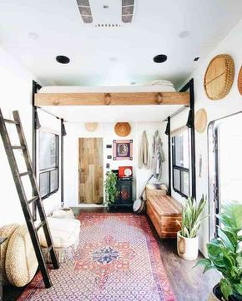 Totally Comfy Rv Bed Remodel Design Ideas 41