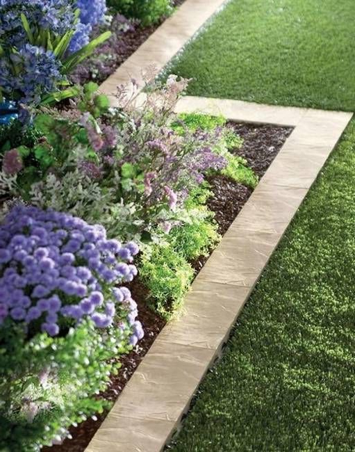 15 Spectacular Yard Landscaping Ideas And Flower Beds With