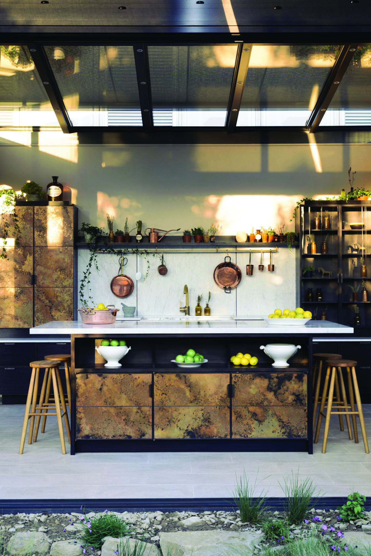 16 Metal Kitchen Cabinet Ideas Metal Kitchen Cabinets