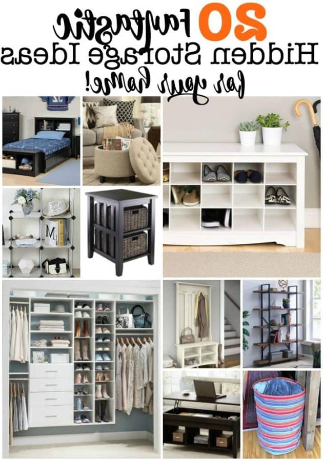 20 Fantastic Hidden Storage Ideas For Your Home Momof6