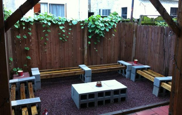 25 Concrete Block Ideas To Try And Enjoy Cheap Diy Outdoor