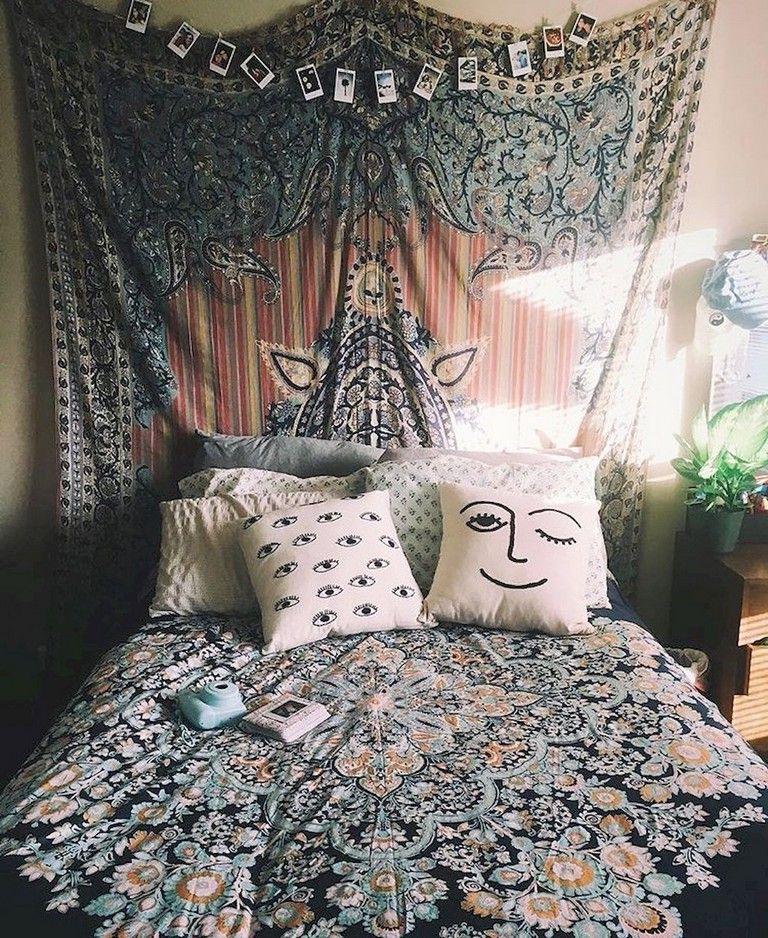 89 Cozy Romantic Bohemian Style Bedroom Decorating Ideas Luxurious Bedrooms Bedroom Styles