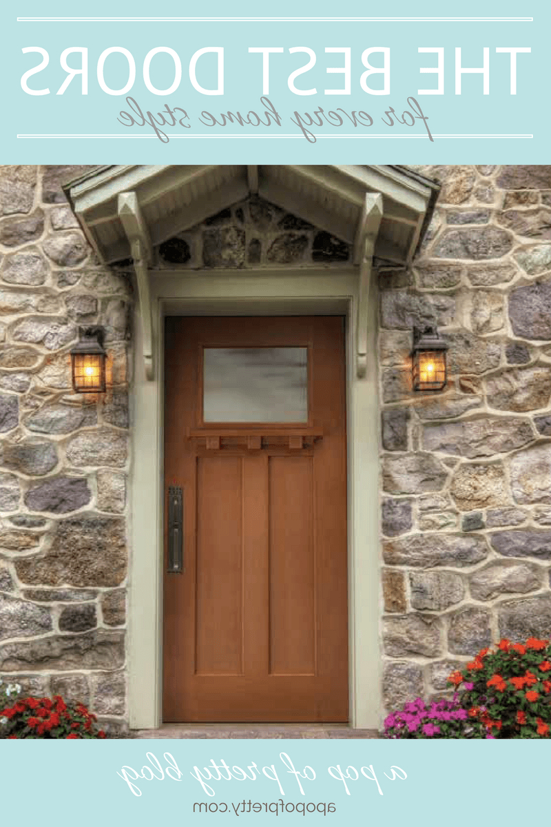 Best Front Doors For Every Home Style Masonite A Pop