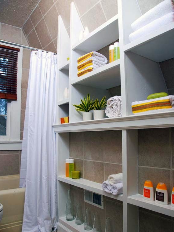 Creative Storage Solutions For Small Bathrooms Ayanahouse