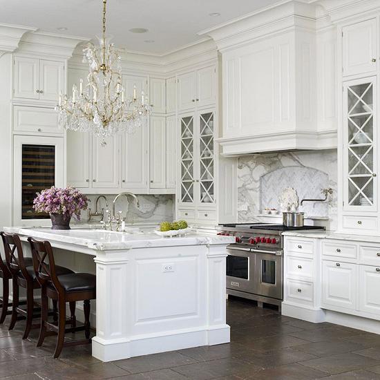 Elegant French Kitchen Traditional Kitchen Bhg