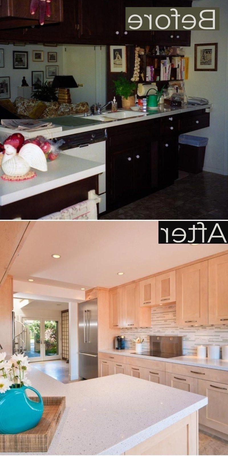 Galley Kitchen Remodel Before And After Ideas 2019 Trends