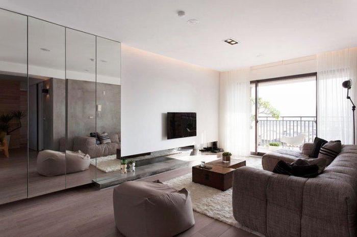 Japanese Minimalist Apartment Interior Design Fertility