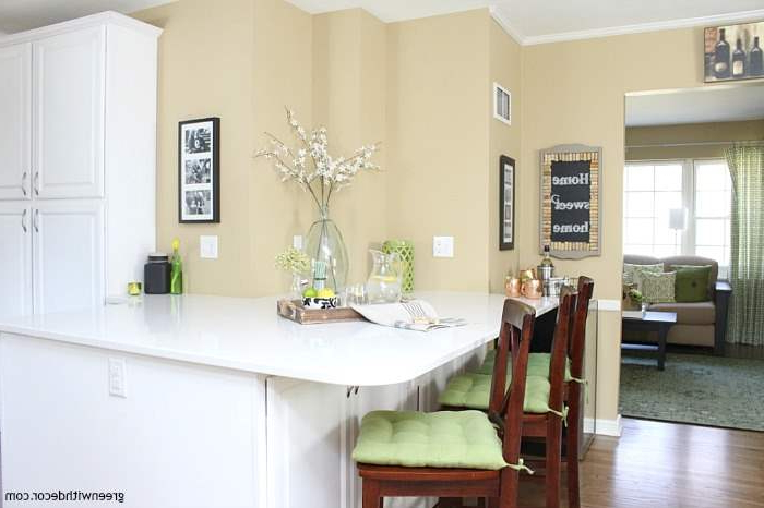 Kitchen Renovation Reveal Before And After Green With Decor