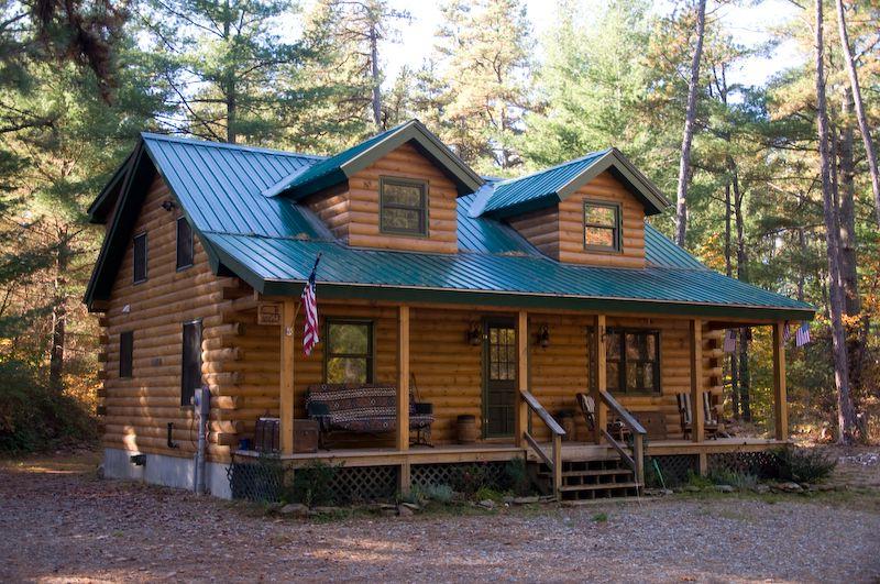Prefab Log Cottage Log Modular Home Custom Log Cabins